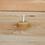 Thumbnail: Bougie en cire d'abeilles + bougeoir