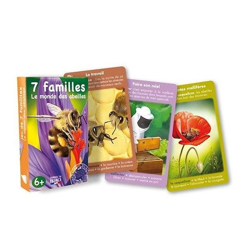 Jeu 7 familles - Le monde des abeilles