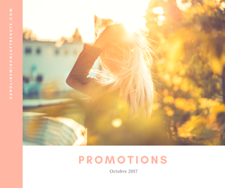 Promotions Octobre 2017