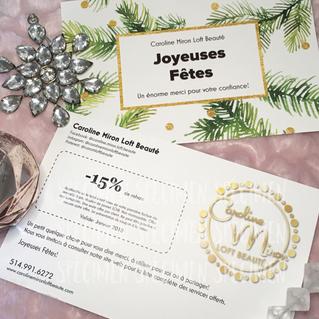 Promotion Joyeuses Fêtes