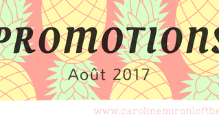 Promotions Août 2017