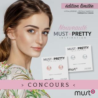 Alerte Concours: Must+Pretty