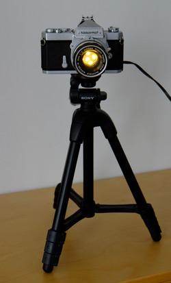 Lamp from Nikkormat FTn