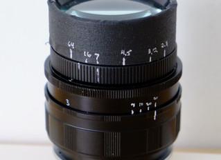 Homemade lens