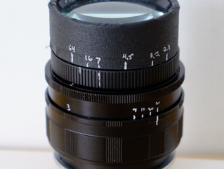Homemade lens