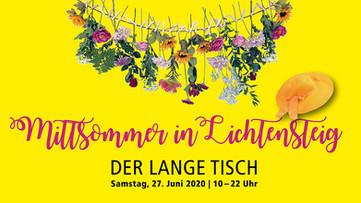 """""""DER LANGE TISCH"""" Ein Anlass des Vereins der """"Wilden Weiber"""" aus Lichtensteig."""