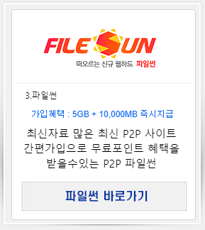 P2P 사이트 파일썬
