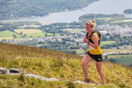 Skiddaw Fell Race 3rd Lady