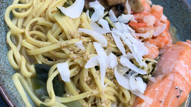 Perfect carb-rich noodles with protein will boost your performance and it's so easy to make!