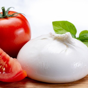 What's the Difference Between Burrata and Mozzarella?