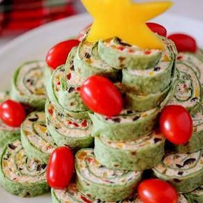 Spinach Tortilla Pin Wheels