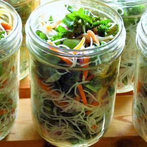 Mason Jar Salad with Livfresh