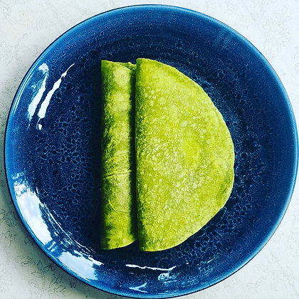 Spinach & Olive Oil Flour Tortillas 6'' pack of 10