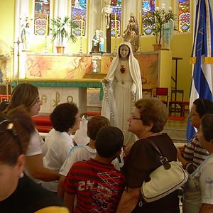 Visita de Nossa Senhora de Fátima