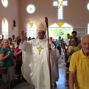 Bênção da Capela Santa Rita de Cássia