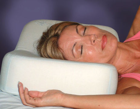 How to sleep on enVy anti aging Pillow