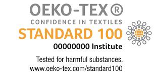 OEKO-TEX LABEL ON SILK