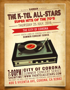 The K-Tel All-Stars / #1 tribute to the 70s