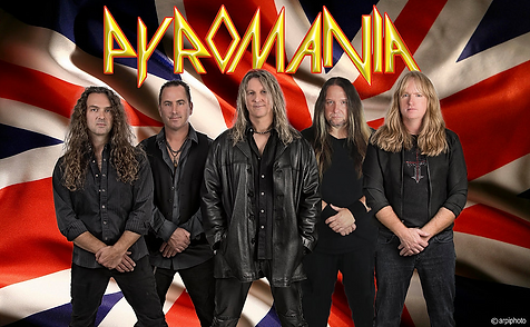 PYROMANIA - The #1 Def Leppard tribute b
