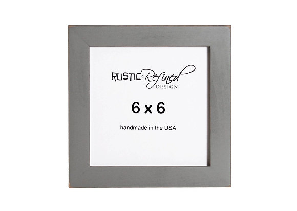 "6x6 1"" Gallery Picture Frame - Grey Green"