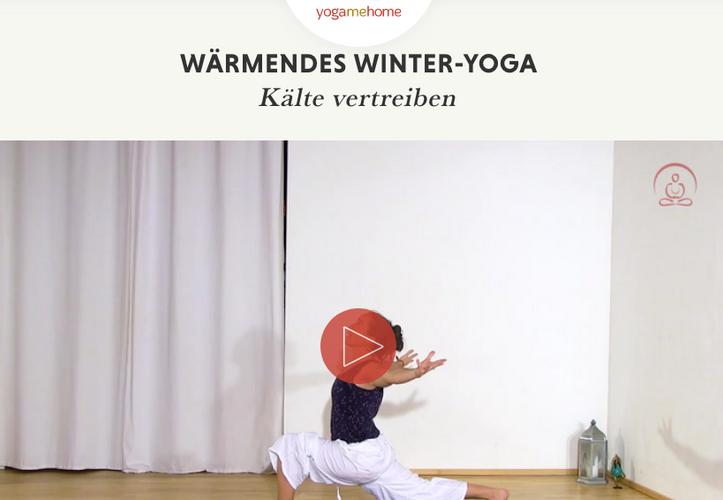 Wärmendes Winter-Yoga