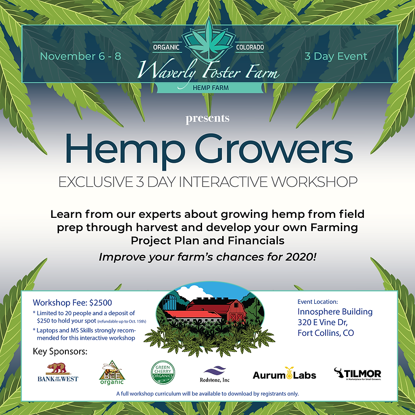 Hemp Farming Workshop