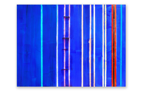 Steely Blue n Red