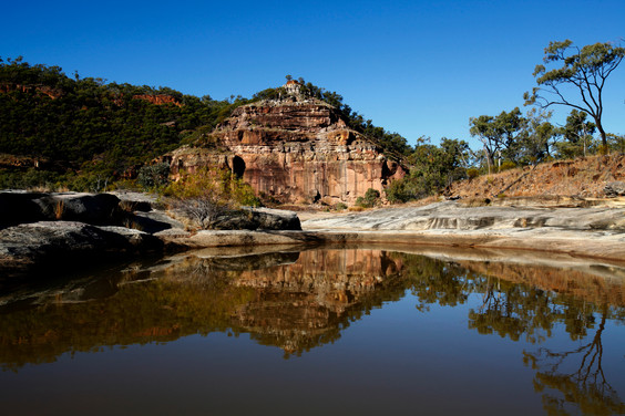 The Pyramid, Porcupine Gorge NP, Flinders region. Qld