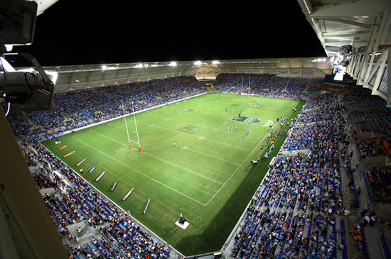 Metricon Stadium Opening