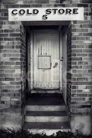 Cold Store Door, Ameins, Granite Belt. Qld