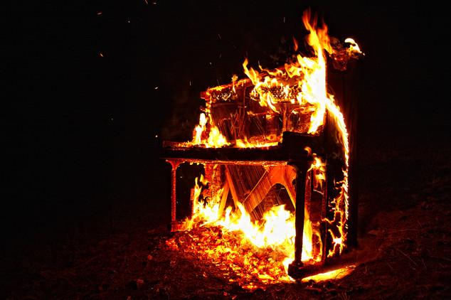 Piano Fire