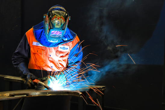 Cascade welder