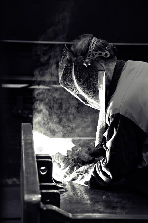 Cascade welding