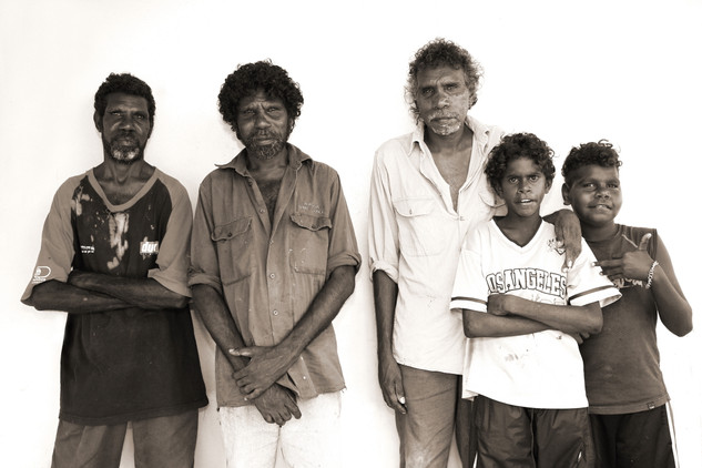 Bell Family- Doomadgee