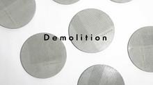 Demolition コンクリート製のコースター