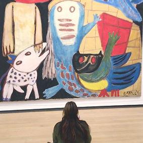 Teamuitje in het Stedelijk Museum