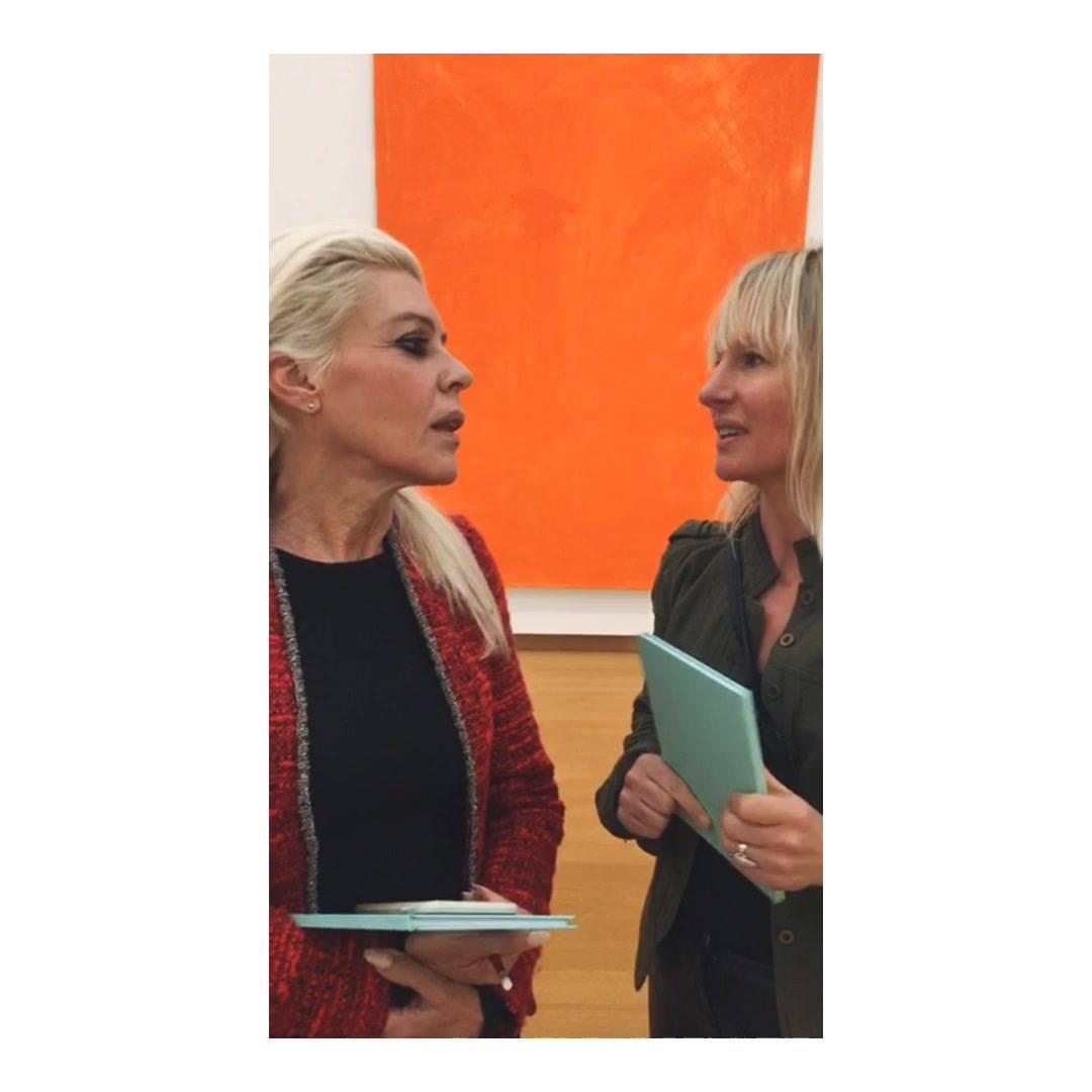 Judith & Viv 'Eerste reactie na hun Art Based Learning avontuur'