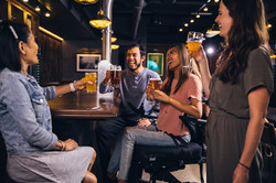group-of-people-drinking-beer-and-having
