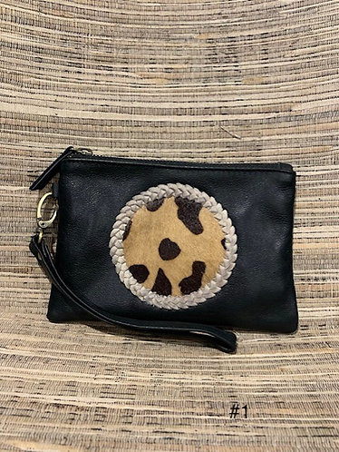 Leather coin purse SMALL