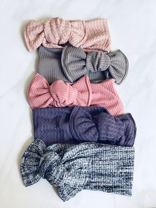 Eden Ribbed Knit Headbands
