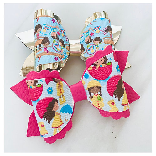 Little Women Print Bows