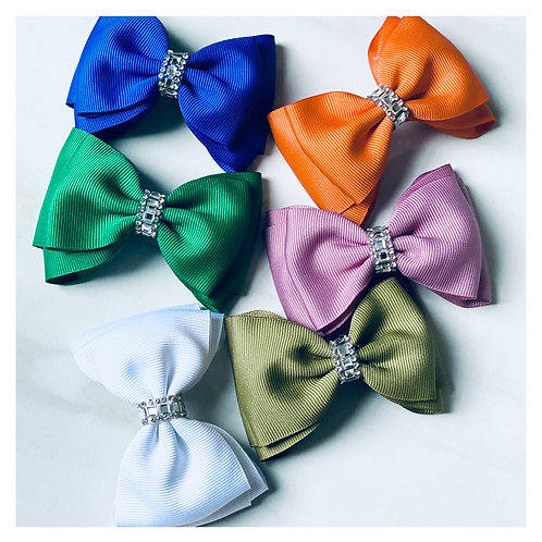 Everyday Bow - Bling (2pc)