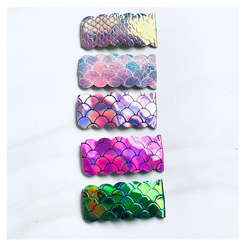 Mermaid Snap Clip Set