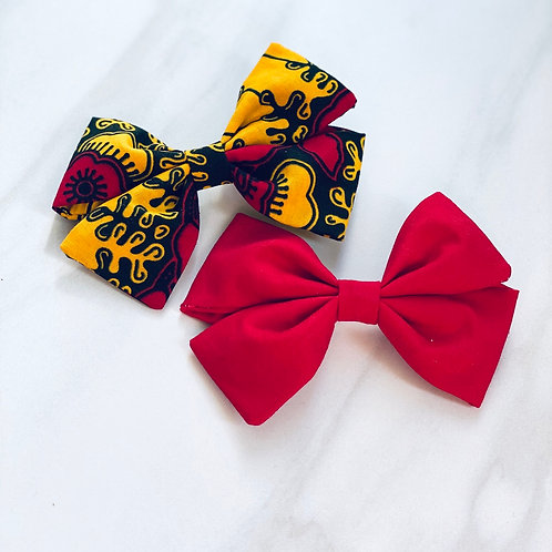 Yellow/Red Leave Combo Set