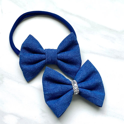 Everyday Denim Bow
