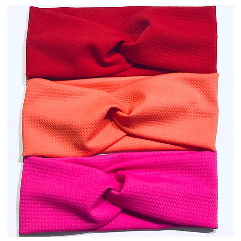 Twisted Turban Headbands (Solid)