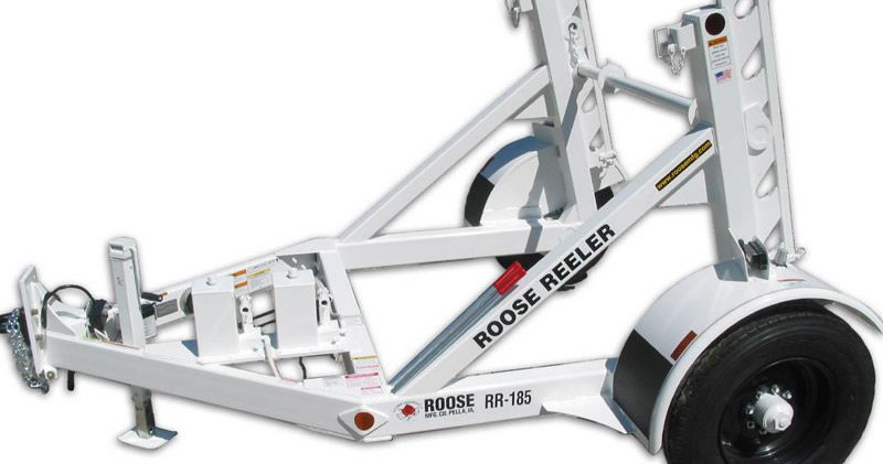 rr-185 single reel trailer - 8,500 lb ca