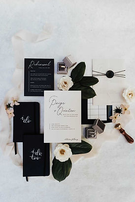 Vow Books and Wedding Invitation Suite