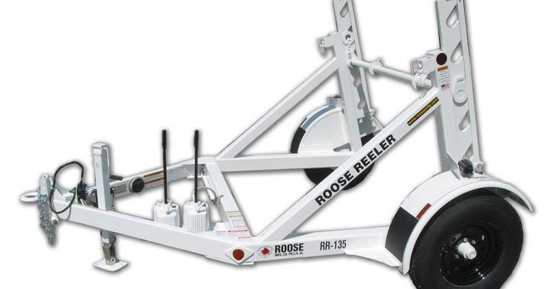 rr-135 single reel trailer - 3,500 lb ca