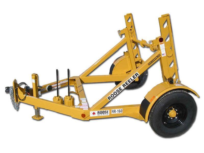 rr-160 single reel trailer - 6,000 lb ca